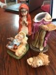 broken nativity